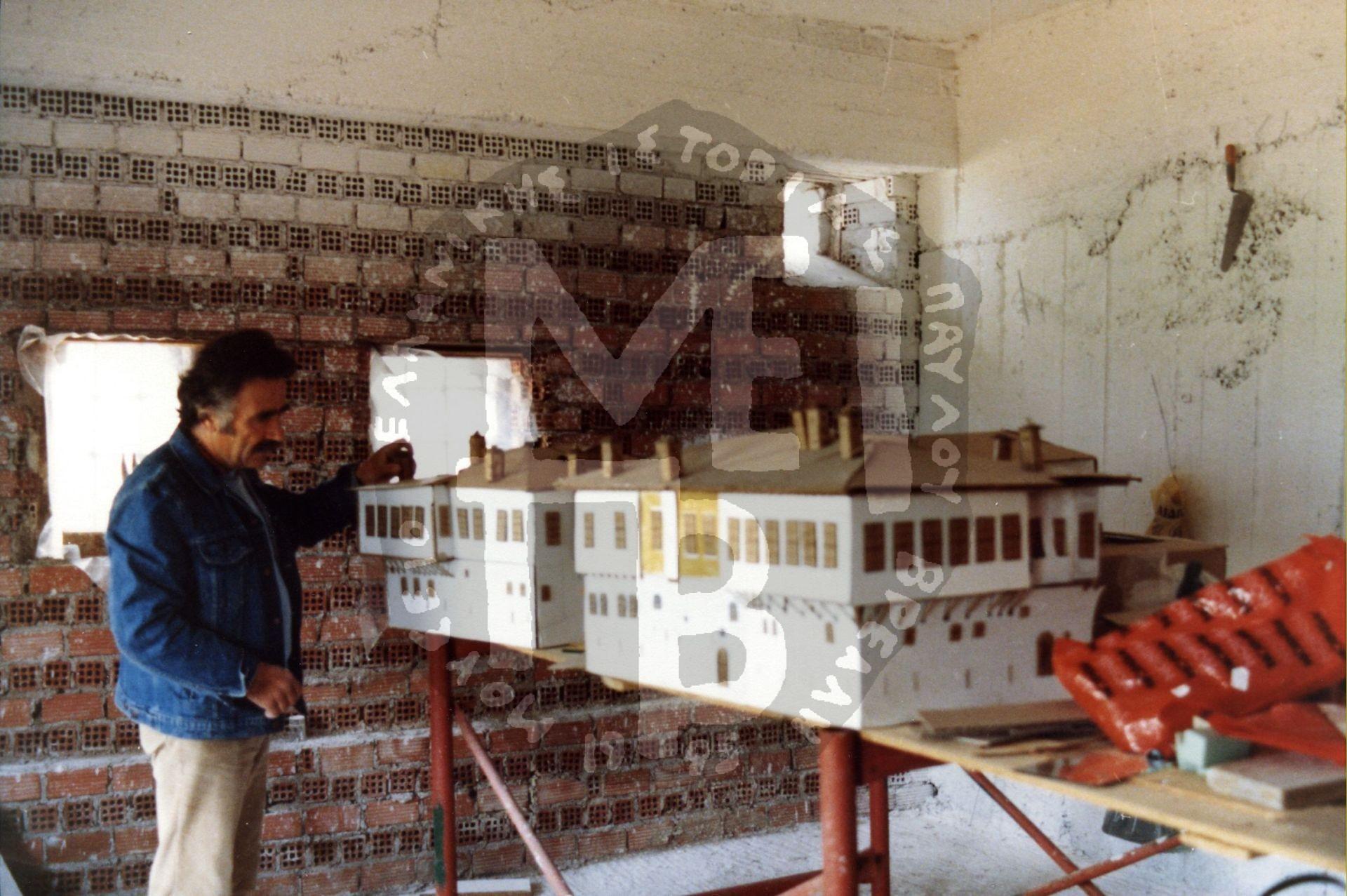 Μακέτα-Κτιριακού-Συγκροτήματος-επισκόπηση