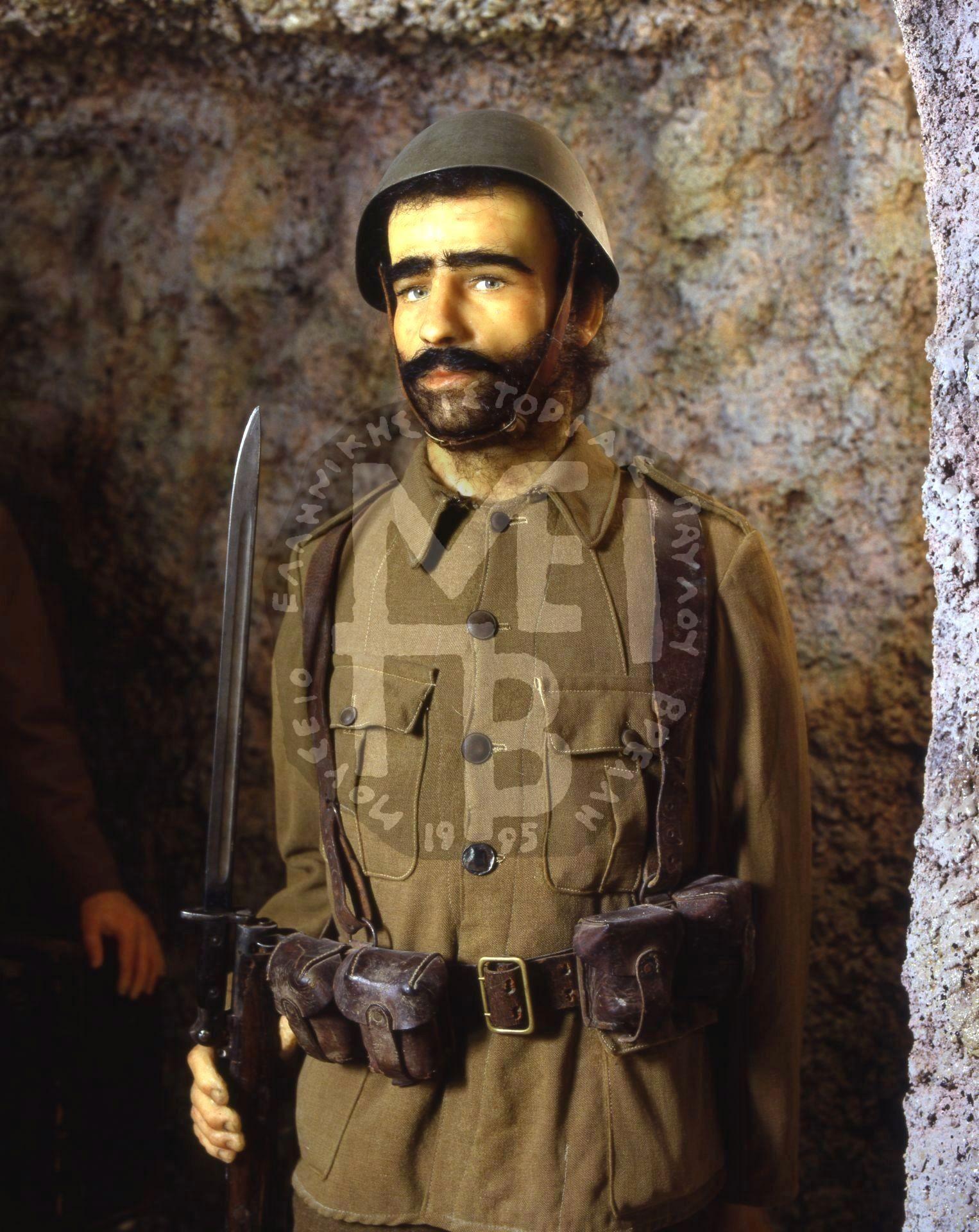 Το Στρατηγείο του 1940 στη Σπηλιά του Καλπακίου – Λεπτομέρεια